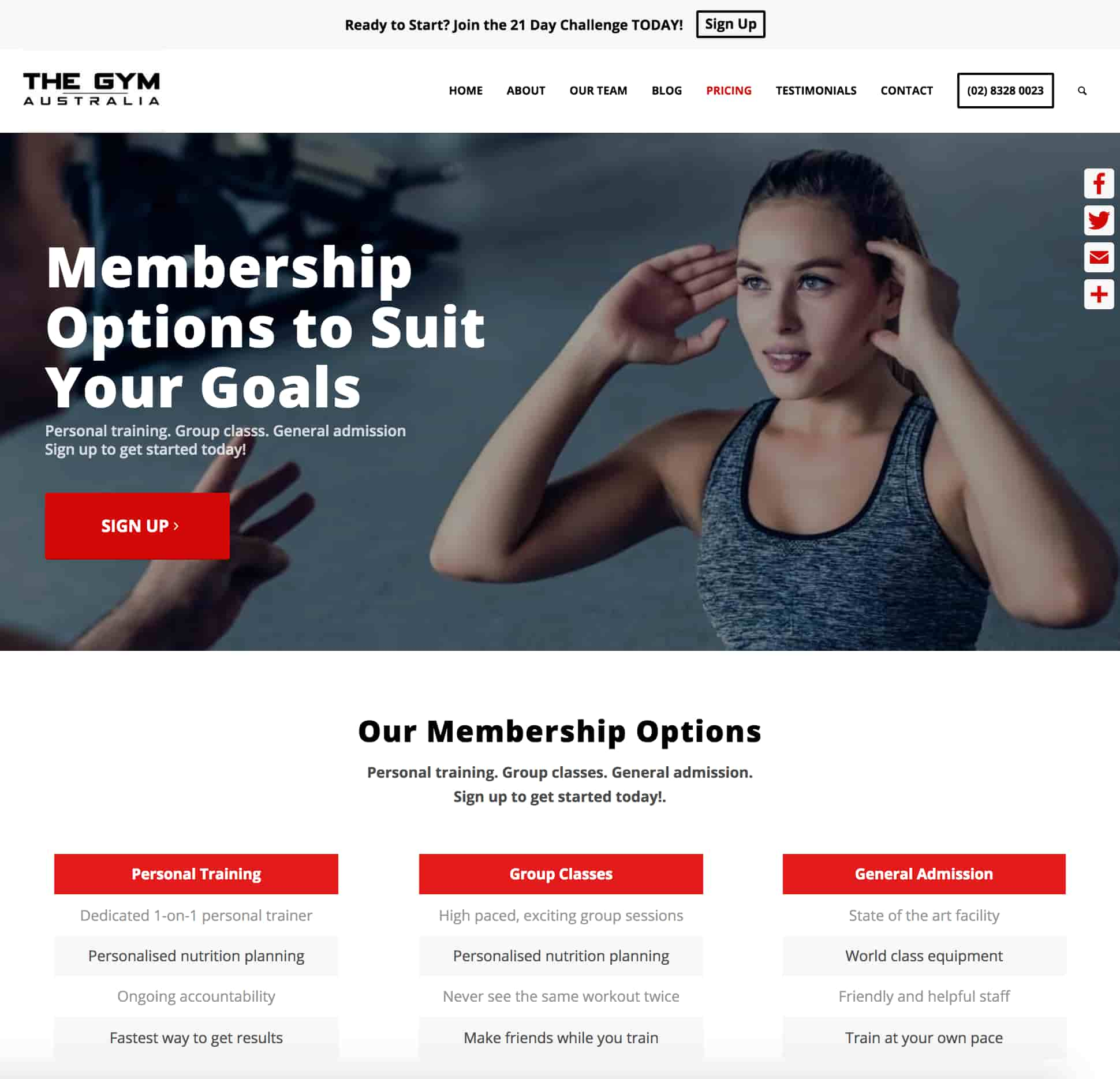 gym-website-design